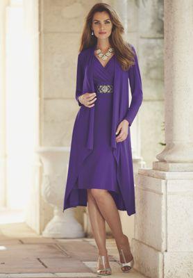 Cascade Jacket Dress