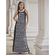 Stamp Inset Dress