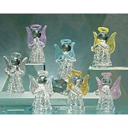 Set of 7 Glass Angels