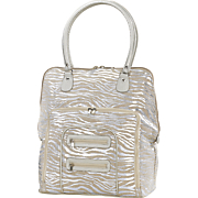 metallic zebra carry on 4
