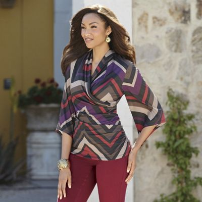 Wine Country Crossover Top