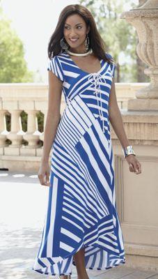 High Seas Maxi Dress