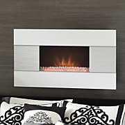 Fireplace, White...