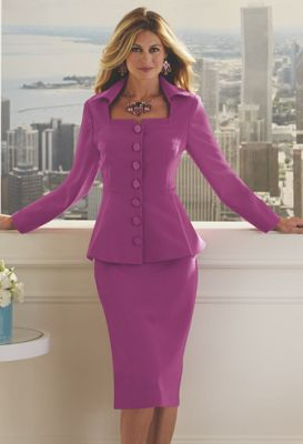 Stand-Up Collar Suit