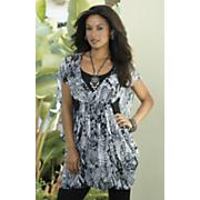 Amazon Print Cocoon Tunic