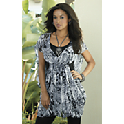 Amazon Print Cocoon Tunic