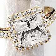Princess Framed Ring
