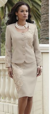 Garbo Lace Suit