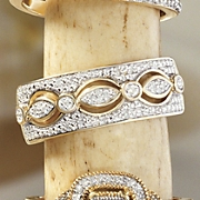 postpaid 10k gold diamond vintage band