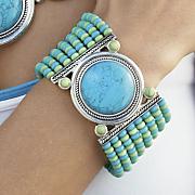 caribbean colors bracelet