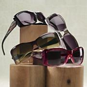 snakeskin sides sunglasses