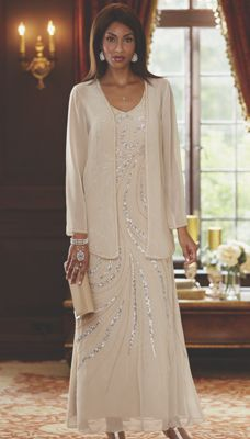 Swirl Jacket Dress