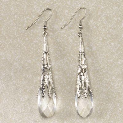 Briolette Droplet Earrings
