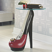 high heel table