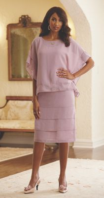 Georgette Caftan Dress Set