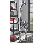 stretch zebra statue