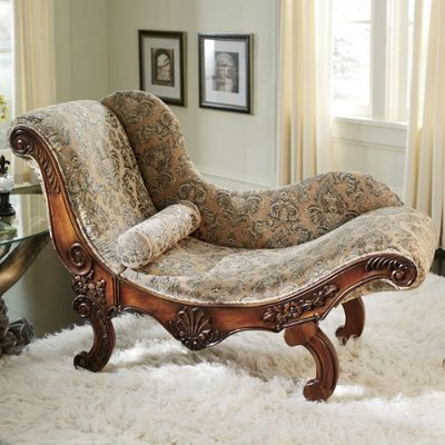 Drama Queen Chaise From Midnight Velvet 70062