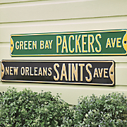 NFL Street Signs