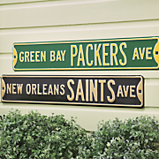NFL Street Signs