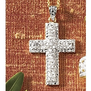 Pendant Diamond Cross