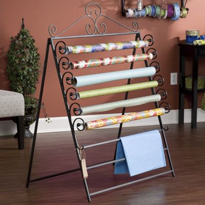 Easel/Wall Mount Craft Storage Rack