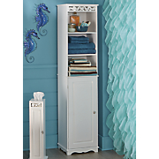 Coral Bathroom Tall Cabinet