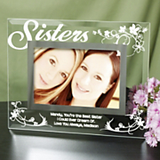 Sisters Glass Picture Frame