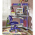 'Cool Colors' Corner Desk