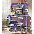 'Cool Colors' Corner Desk