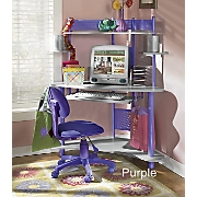 Cool Colors Corner Computer Desk
