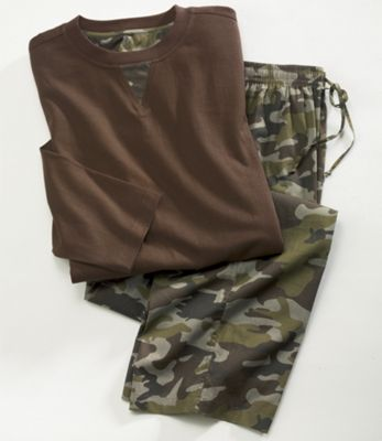 2-Piece Camo Lounge Set