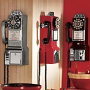 Retro Phone and Bank