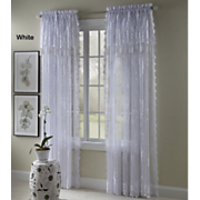 Carly Lace Panel With Valance