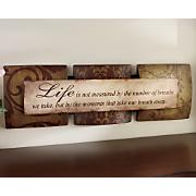 Life Plaque