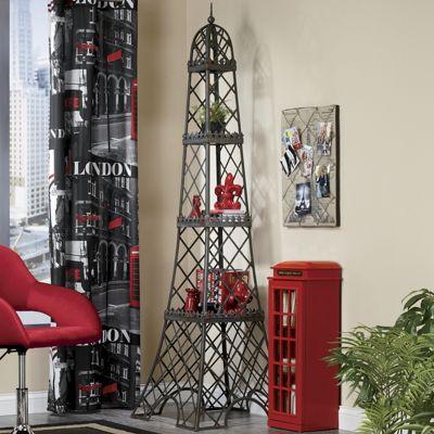 Eiffel Tower 3-Shelf Display