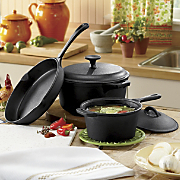 Cast Iron 5-Piece...