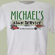 Lawn Service Tee
