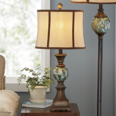 Anastasie Antiqued Table Lamp