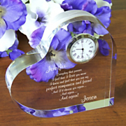 Id Choose You Again Keepsake Clock