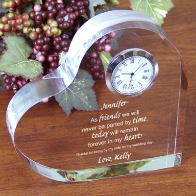 Friends Forever Keepsake Clock