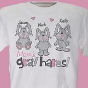 Moms Gray Hairs Tee