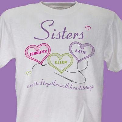 Sisters Heartstrings Tee
