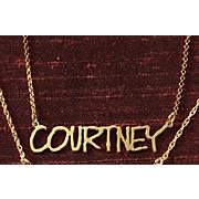 Necklace Name Fine Line