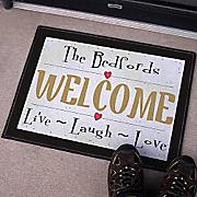 Live Love Laugh Doormat