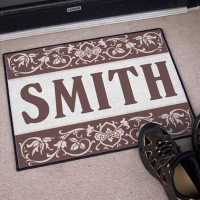 Our Family Welcome Doormat