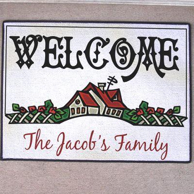 Welcome House Doormat