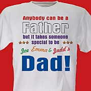 Anybody Can Be A Father Tee