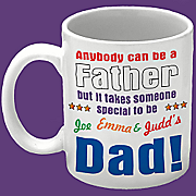 Anybody Can Be A Father Mug