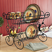 Rooster Dish Drainer