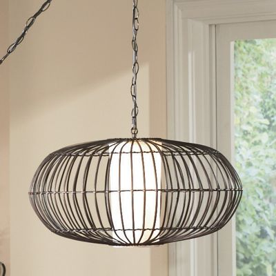Elliptical Cage Lamp